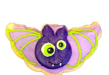 Halloween Bat Cookie