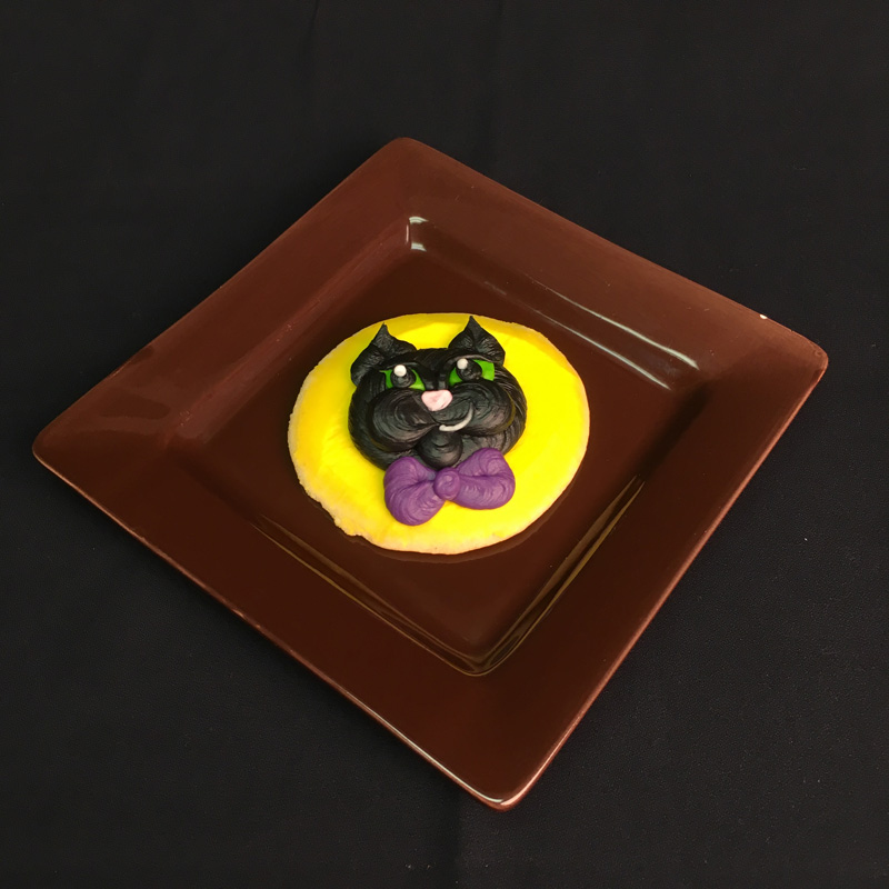 Halloween Cat Cookie