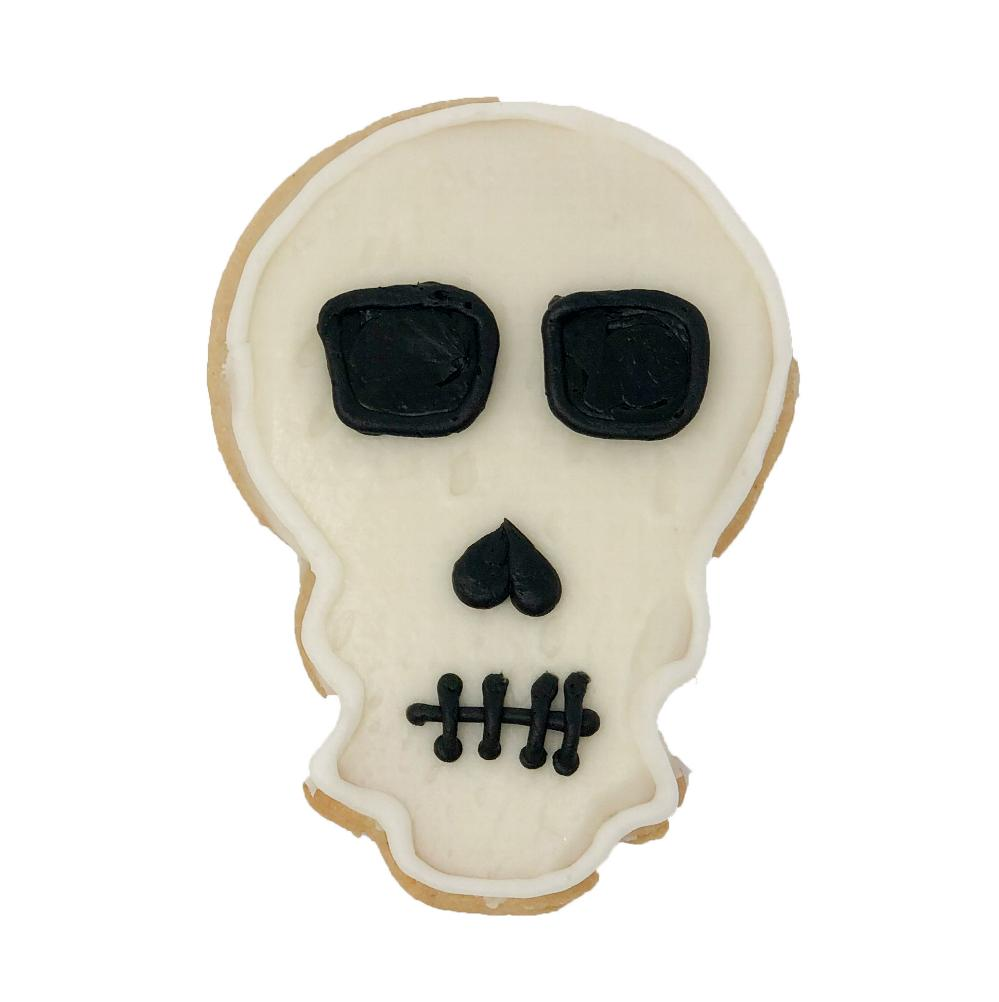 Halloween Skull Cookie