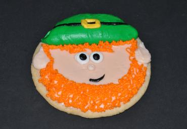 Holiday Decorated Cookie- Leprechaun