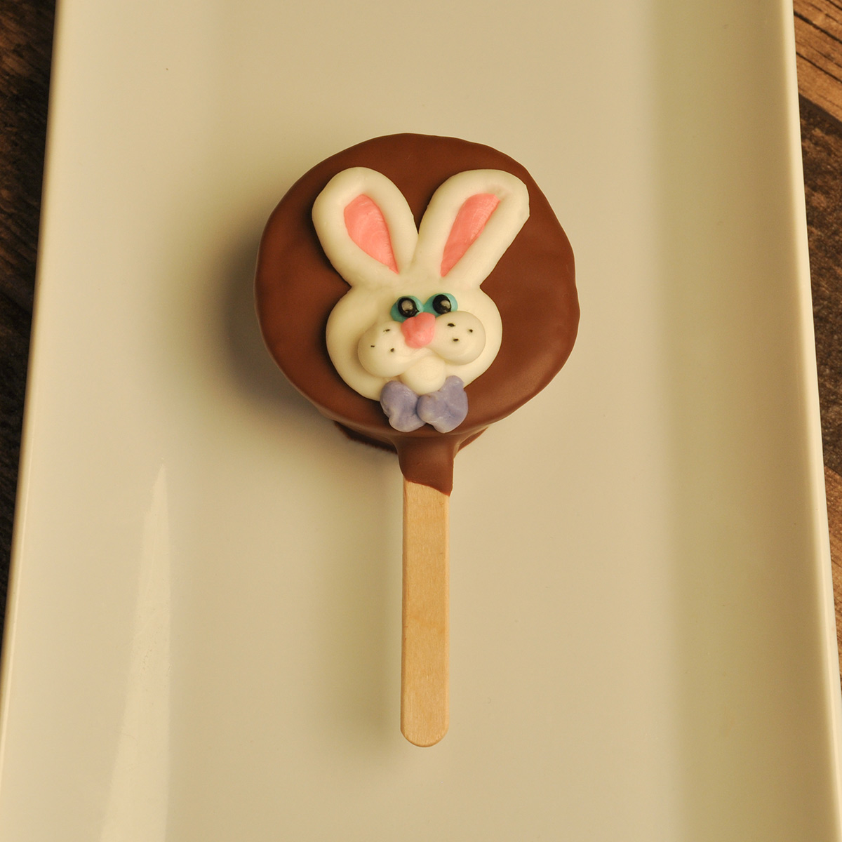 Brownie Pop Easter Bunny