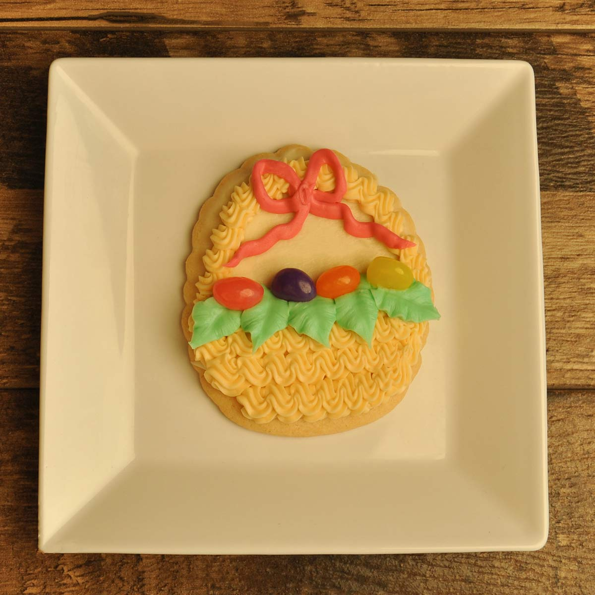 Decorated Cookie- Easter Basket