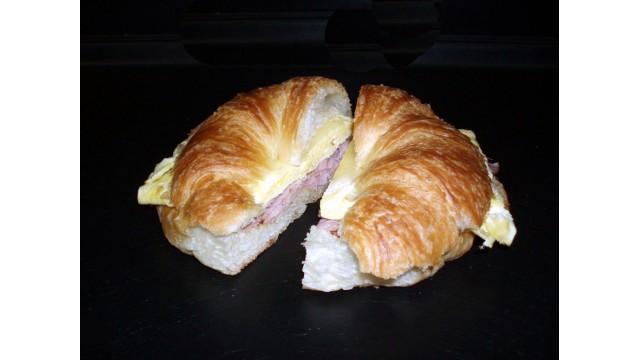 Hot Ham Croissant