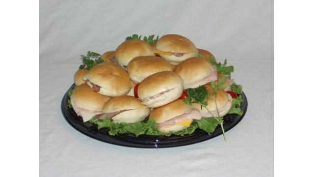"Dollar Bun Sandwich Tray 12"""