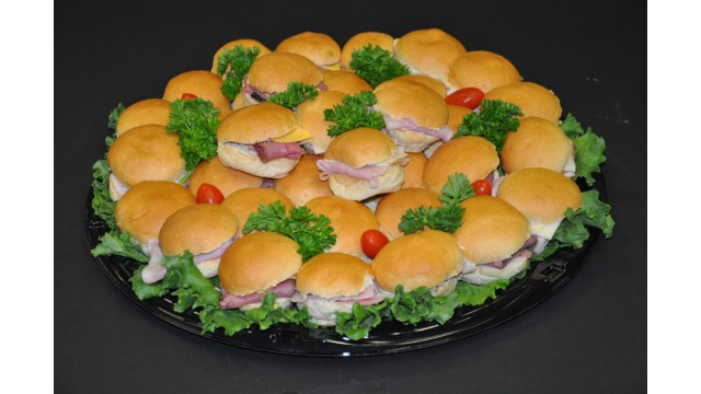 Dollar Bun Sandwich Tray 18""