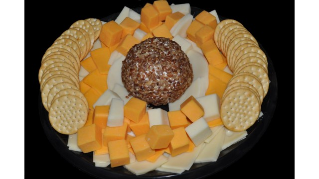 Cheese & Cracker Tray 18""