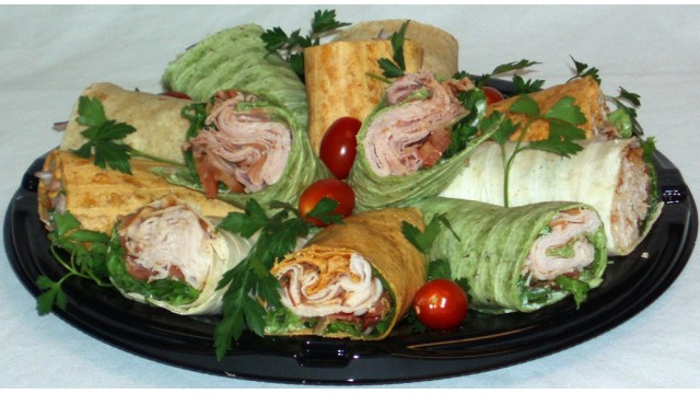"Wrap Sandwich Tray 18"""