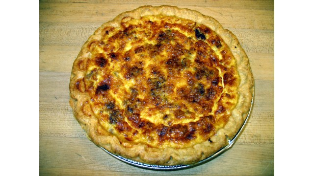 Breakfast Quiche Pan
