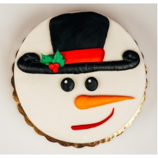 Christmas Treat Cake- Snowman