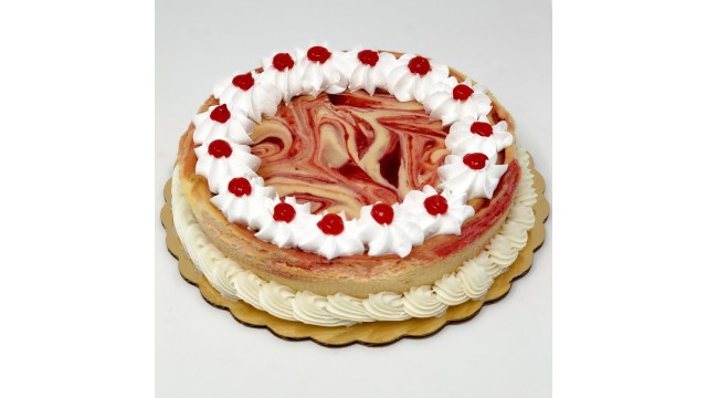 Cheesecake, Strawberry Swirl