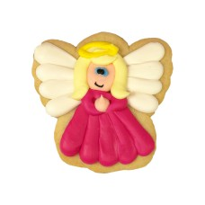 Decorated Christmas Cookie- Angel