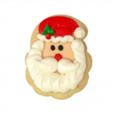 Decorated Christmas Cookie- Santa Claus