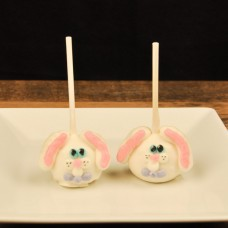 Easter Cake Pop-Bunny