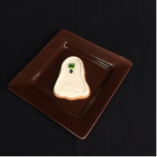 Halloween Decorated Cookie-Ghost