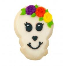 Halloween Decorated Cookie- Girlie Skull