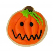 Halloween Decorated Cookie- Jack-O-Lantern