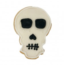 Halloween Decorated Cookie-Skull