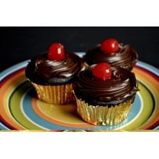Cupcake, Chocolate Ganache
