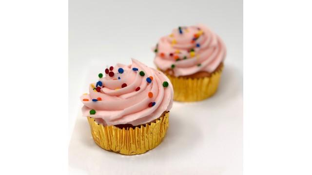 Cupcake, Strawberry Sprinkle