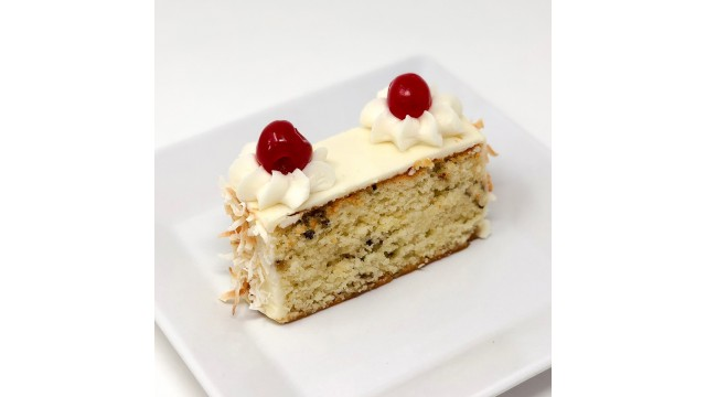 Cake Slice, Italian Creme