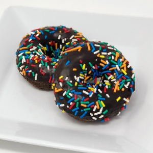 Chocolate Sprinkled Donut
