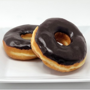 Chocolate Yeast Raised Donut