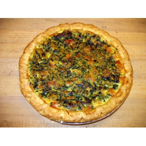 Lunch Quiche Pan
