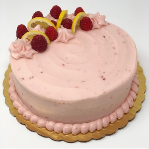 Lemon Raspberry Dessert