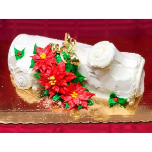 Yule Log (White/Lemon)