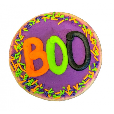 Halloween Decorated Cookie- BOO