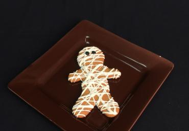 Halloween Mummy Cookie